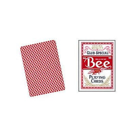 Cartes taille Bee Poker (rouge).