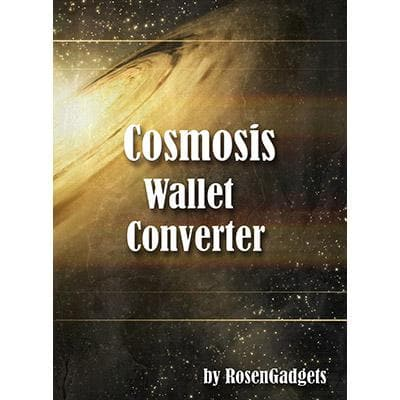Cosmosis Wallet Converter (NO Wallet- Converter and DVD) by Rosengadgets - DVD