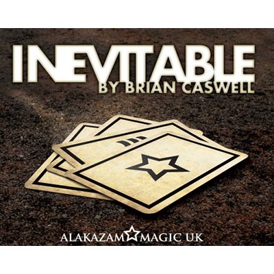 Inevitable RED (DVD y trucos) de Brian Caswell y Alakazam Magic - Tricks.