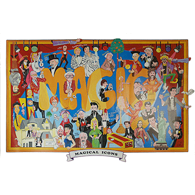 Magical Icons Poster (Vernon Fund / Limited) von Dale Penn - Trick
