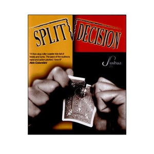 Split Decision (With DVD) by Joshua Jay - Trick