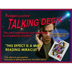 Talking Deck by Rodger Lovins - Trick