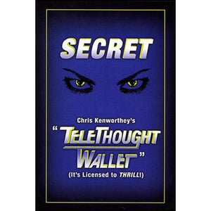 Telethought Wallet (Original) by Chris Kenworthey - Trick