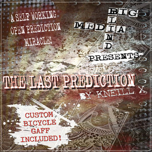The Last Prediction (DVD and Gimmick) by Kneill X and Big Blind Media - DVD