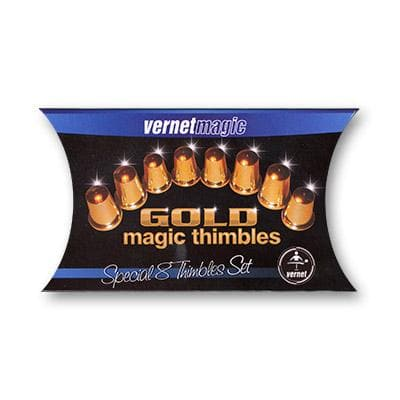Thimbles Set (Gold) by Vernet - Tricks