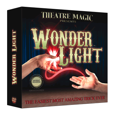 Wonder Light (DVD and Gimmick) by Theatre Magic - Trick