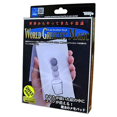 Magic Memo Pad by Tenyo Magic (2013) - Trick