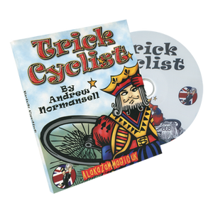Trick Cyclist (w/DVD) by Andrew Normansell and Alakazam - Trick