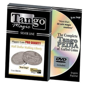 Tango Silver Line Flipper Pro Gravity Walking Liberty (w/DVD) (D0119) by Tango - Trick
