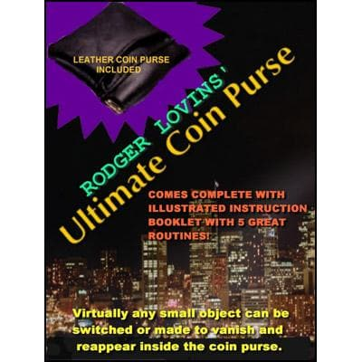 Ultimate Coin Purse by Rodger Lovins - Trick