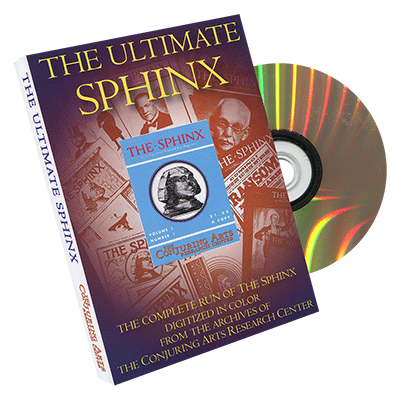 The Ultimate Sphinx by The Conjuring Arts Research Center - DVD