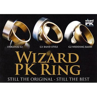 Wizard PK Ring G2 (CURVADO, dorado, 16 mm) de World Magic Shop - Truco.