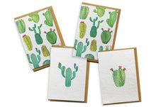 Load image into Gallery viewer, Card 4-Pack - Cactus