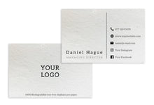 Load image into Gallery viewer, Business Cards - Your Logo