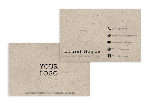 Business Cards - Your Logo