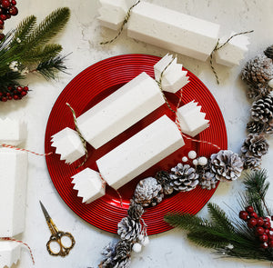 Seed Paper Christmas Crackers - DIY Make Your Own Kit (Pack of 4)