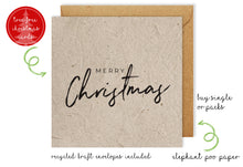 Load image into Gallery viewer, Christmas Card - Merry Christmas