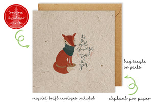 Christmas Card - Wonderful Fox