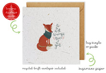 Load image into Gallery viewer, Christmas Card - Wonderful Fox