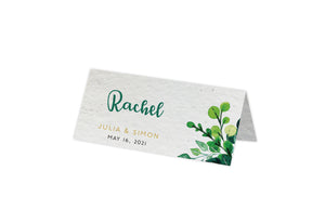 Placecards - FOLIAGE RING