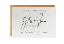 Load image into Gallery viewer, Save the Date - SIGNATURE