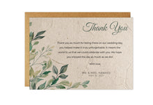 Load image into Gallery viewer, Thank You Cards - GREENERY