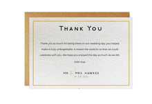 Load image into Gallery viewer, Thank You Cards - CLASSIC