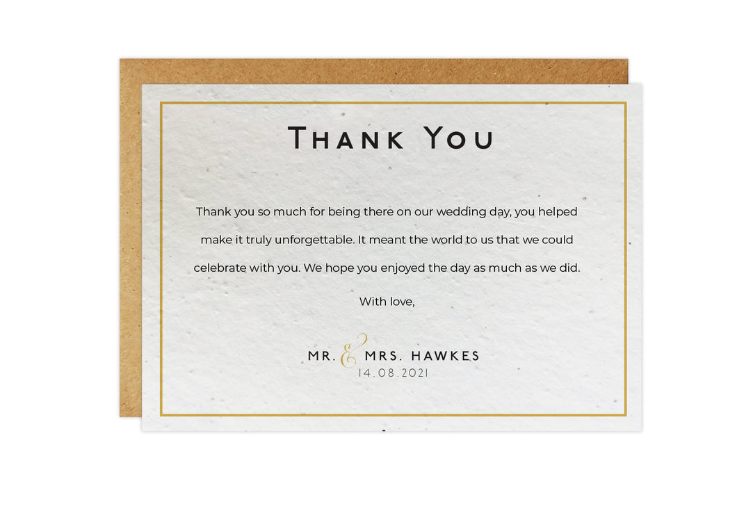Thank You Cards - CLASSIC