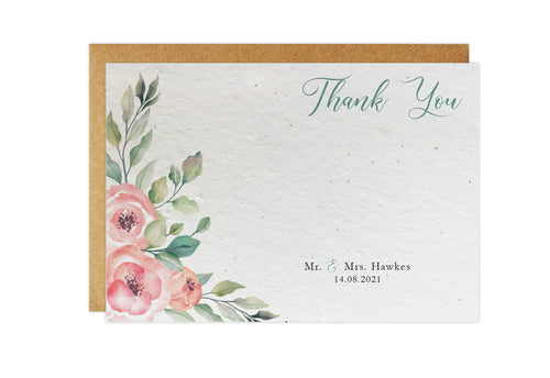 Thank You Cards - ROSES