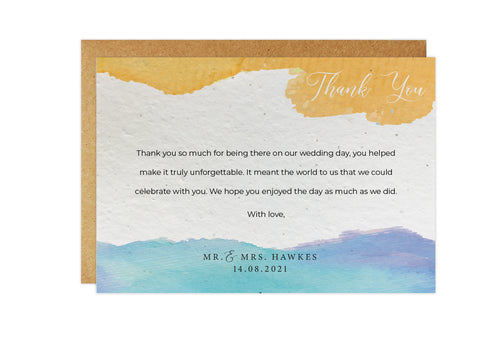 Thank You Cards - SUN & SEA