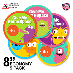 "8"" Economy 5 Pack - Space Monsters"