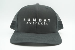 Trucker Hat Black Sunday Extracts