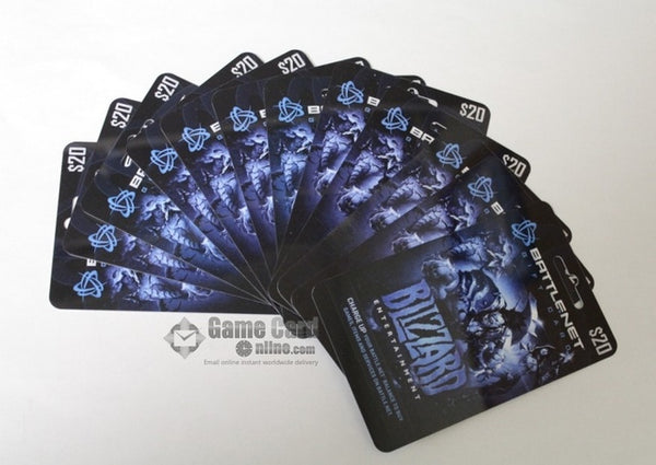 Blizzard Battle.net balance Gift Card $20