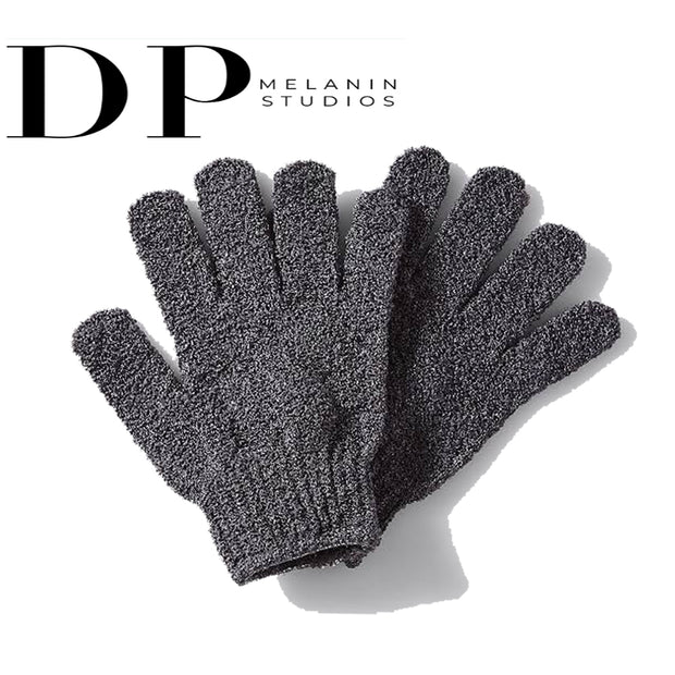 Hygienic Fingerless Kojic Acid Skincare Exfoliating Gloves