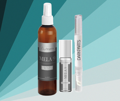 Mela9 Salicylic Acid Roll on Hyperpigmentation Pigment Peel Kit