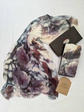 Load image into Gallery viewer, APPLE BLOSSOM CASHMERE & MODAL SCARF