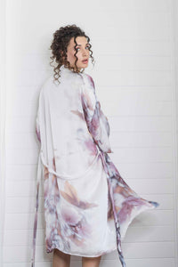APPLE BLOSSOM ROSE ROBE