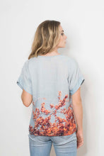 Load image into Gallery viewer, BLOSSOM LOVE LINEN TSHIRT