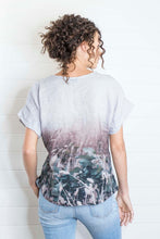 Load image into Gallery viewer, BLUE GUM LINEN TSHIRT