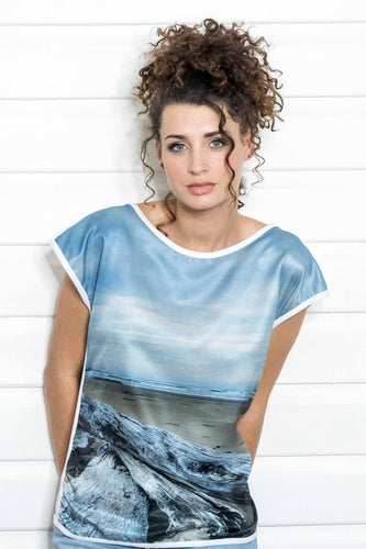 DRIFTWOOD SILK COTTON TEE