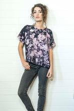Load image into Gallery viewer, FLOWER FIELDS LINEN TSHIRT