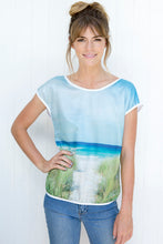 Load image into Gallery viewer, BAY OF FIRES  SILK COTTON TSHIRT