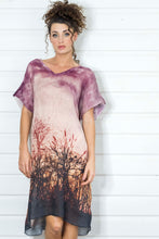 Load image into Gallery viewer, LENNOX WETLANDS LINEN KAFTAN