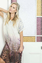 Load image into Gallery viewer, FLOWERING GRASSES LINEN KAFTAN