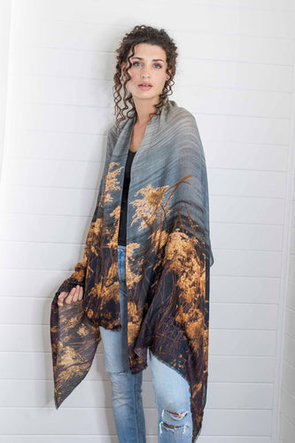 RIVER REEDS CASHMERE & MODAL SCARF