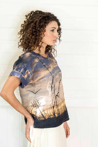 NORTH HEAD LINEN TSHIRT