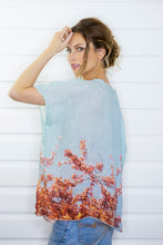 Load image into Gallery viewer, BLOSSOM LOVE LINEN TOP