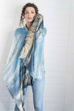 Load image into Gallery viewer, STORMY SKY CASHMERE & MODAL SCARF