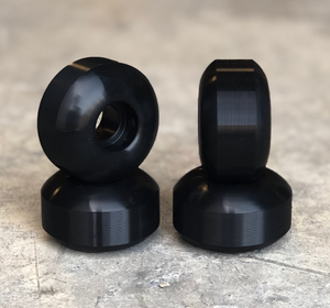 Blank Skateboard Wheels Black