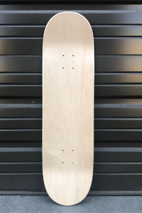 Blank Skateboard Deck Medium Concave Traditional Tapered Shape